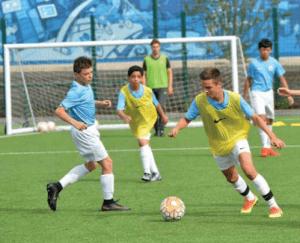 vacanze studio Inghilterra calcio summer camp Viva International