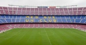 scuola-calcio-camp nou stadio Barcellona FC VIVA International summer camps